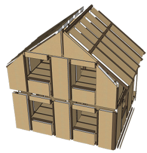 Домокомплекты из СИП панелей и СИП дома